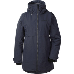 DIDRIKSONS Helle Parka Dame Dark Night Blue